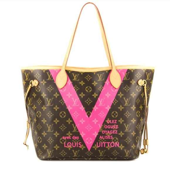 bb480b3ec0a4 Louis Vuitton Handbags - Louis Vuitton Neverfull Limited Edition Grenade V